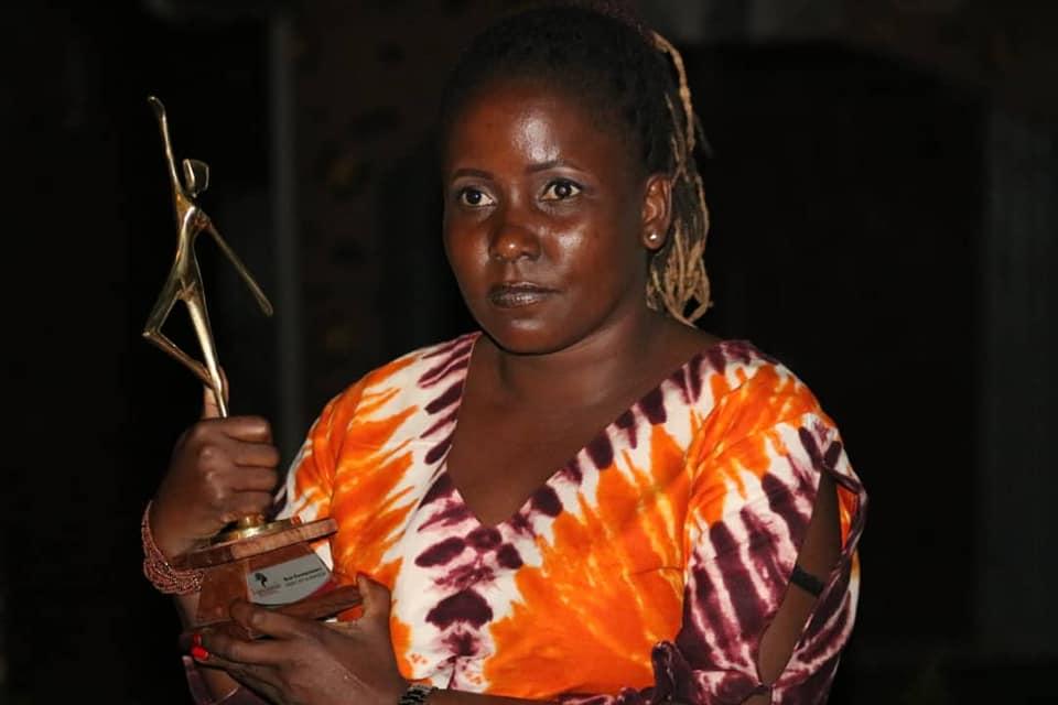 Phibie Ntandy at CWF Kampala